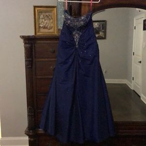 Ball Gown with Corset back